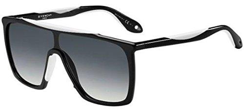 Sunglasses Givenchy 7040/S 0TEM Black White / 9O dark gray gradient - Sunglasses Givenchy Men