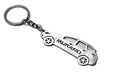 Amazon.com : Keychain With Ring For Nissan Murano II Steel ...
