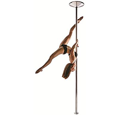 amazon com x pole 45mm stainless steel x pert dance pole spin