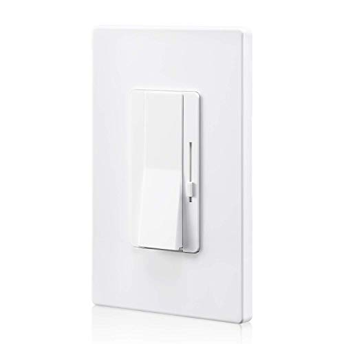 TORCHSTAR 3-Way/Single Pole Dimmer Switch with Slider, UL Listed 0-10V Wall Dimmer, On/Off Rocker Switch, for Controlling LED Lights, UL Listed