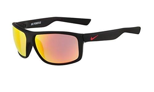 Nike Grey with Mild Flash Lens Premier 8.0 R Sunglasses, Matte Black/Gym - Lens Oakley Colours