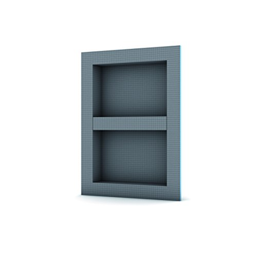 "Wedi 74315400 Shower Niches, 16"" L x 22"" W"