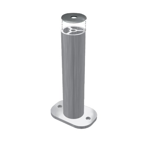 (Unirac 310556 SolarMount 6in Flat Top 2pc Standoff Set 12)