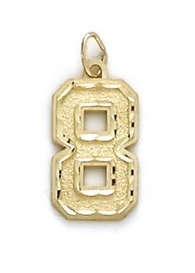 Sport Grand format 14 Carats Pendentif JewelryWeb numéro 8