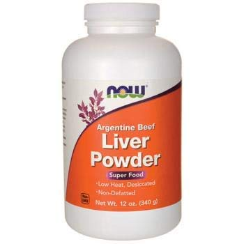 Liver Powder, 12 OZ by Now Foods (Pack of 4)