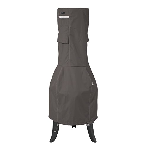 Classic Accessories Ravenna Outdoor Chiminea Cover - Premium Outdoor Cover with Durable and Water Resistant Fabric, Large (55-812-045101-EC) by Classic Accessories