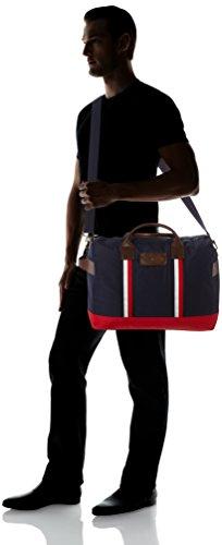 Tommy Hilfiger Minimalist Travel Bag Corporate, Organiseurs de sacs à main homme, Weiß (Rwb), 1x1x1 cm (L x H P)