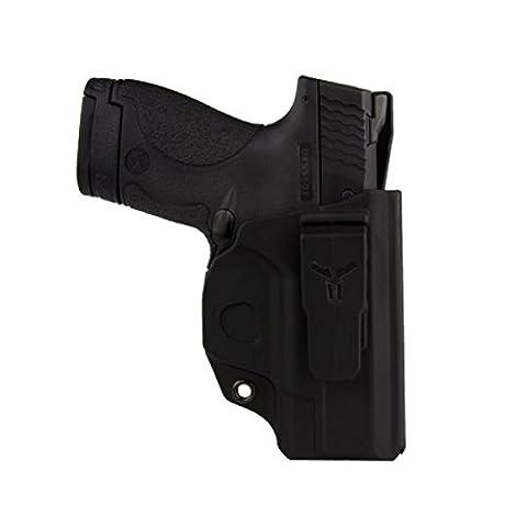 Blade-Tech Industries Klipt IWB Holster - S&W M&P Shield 9/40, Right, Black - Blade Tech Belt Holster