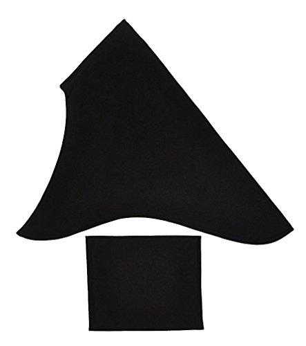 Black 2 piece Al-Amira Style Hijab