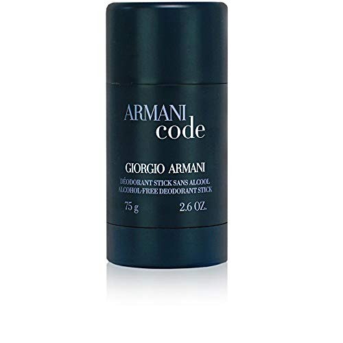 Armani Code by Giorgio Armani For Men. Alcohol Free Deodorant Stick 2.6-Ounces ()
