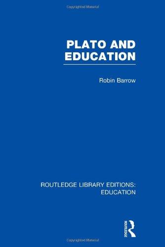 Plato and Education (RLE Edu K)