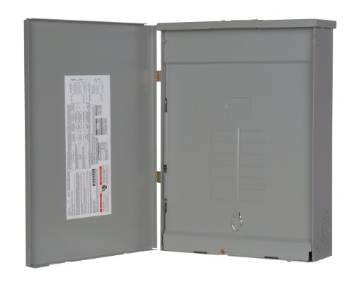 - Siemens SW1224L3125 125-Amp Outdoor Main Lug 12 space, 24 Circuit 3-Phase Load Center, Copper Bus