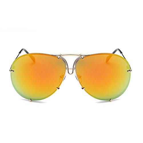 de Hombre sol sol Mujeres Horrenz del dise Kardashian de del Kim sol Superstar de o gafas de hombres 6 Tipo espejo gran o Mujer Gafas marca tama BaaHqnx