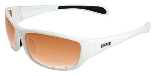 Maxx Sunglasses Venom White Frame Sports