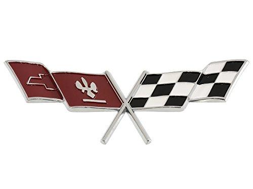 - 1977 Corvette Gas Door Emblem