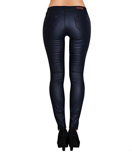 Danaest - Vaqueros - skinny - Básico - para mujer azul oscuro