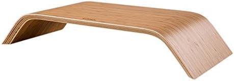 [スポンサー プロダクト]SAMDi(サムディ) 木製 モニター台 iMac対応 机上台 スタンド キーボード収納 【正規輸入品】ナチュラルカラー
