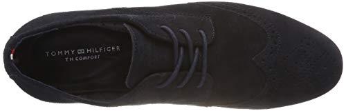 Midnight Shoe Bleu Casual Homme 403 Suede Dressy Hilfiger Tommy Richelieus ZAqHZPw
