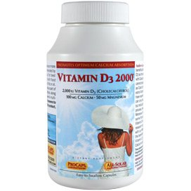 Vitamin D3-2000 720 Capsules by Andrew Lessman