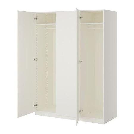 Ikea Armadi E Guardaroba.Ikea Armadio Bianco Ballstad Bianco 18382 81717 1820 Amazon It