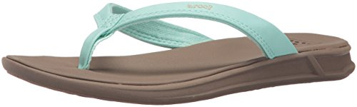 Reef Women's Rover Catch Flip Flop, Mint, 10 M - Womens Reef Ginger