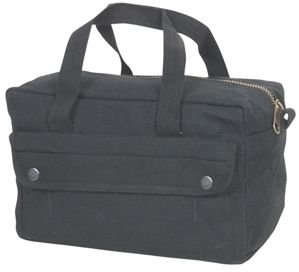 (Fox Outdoor Products Mechanic's Tool Bag with Brass Zipper, Black)