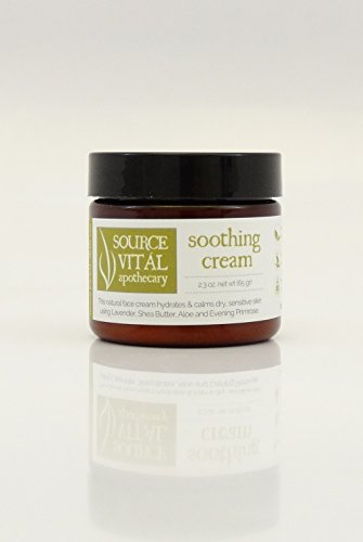 Source Vitál Apothecary | Soothing Cream | Ultra Soothing Facial Cream For Dry and Sensitive Skin | 2.3 ()