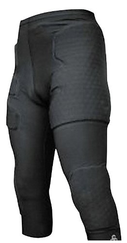 1d134226d6 McDavid 3/4 Length Compression Pant with HexPad Thigh, Hip, Knee Protection  (
