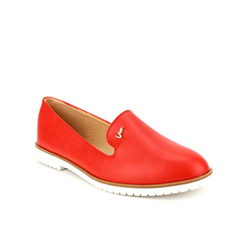 Rich Red Cendriyon Mode Chaussures Slippers Femme Vivi atxnzOpwqn