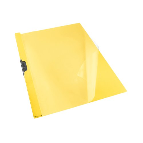 Esselte Clip File, Formato A4, Capacità fino a 30 fogli (80 gr/mq), PVC, Blu Vivida, VIVIDA, 563750