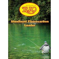 Rio Fly Fishing Steelhead/Salmon 9′ 20Lb Fishing Leaders, Clear