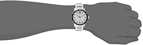 Tissot Men's T0954101103700 Quickster Analog Display Swiss Quartz Silver Watch