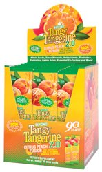 Beyond Tangy Tangerine 2.0 Citrus Peach Infusion Packets (30 Count)