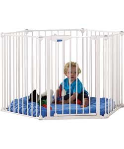 Amazoncom Lindam Safe And Secure Metal Playpen Baby