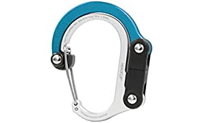 HEROCLIP Carabiner Clip and Hook (Mini) | For Travel, Luggage, and Small Bags
