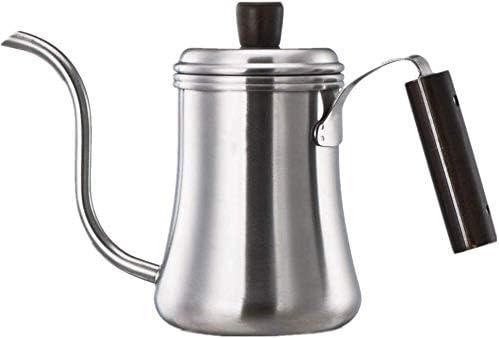 Cafetera Hervidor de agua por goteo olla de acero inoxidable ...