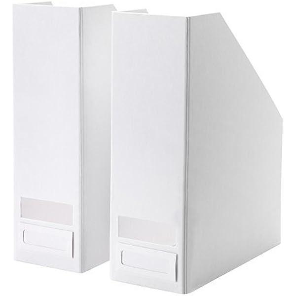 IKEA TJENA revistero en blanco; 2 pcs: Amazon.es: Hogar