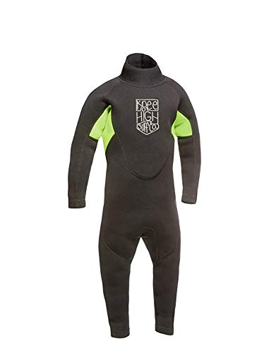 Knee High Surf Co. Kids Wetsuit Full Suit for Infant Toddler and Baby (Small-3mm)