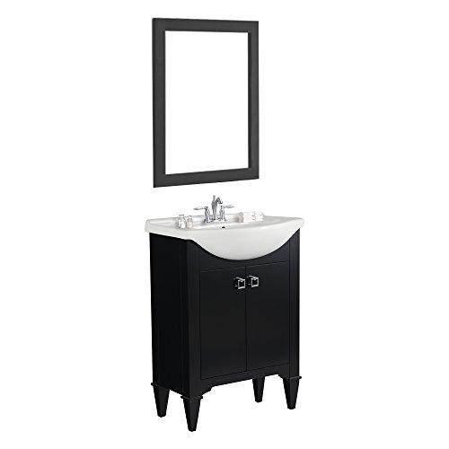 "Legion Furniture Single Sink Vanity, 24"", Espresso"