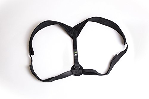 Hardihood Athletics Posture Corrector - Orthopedic Trainer Brace for Women or Men - Comfortable Breathable Device to Fix Upper Lower Back Shoulder and Neck Pain - Adjustable Clavicle Support Bands by Hardihood Athletics (Image #3)