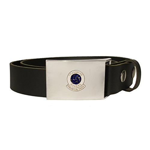 (Tranmere Rovers football club leather snap fit belt)