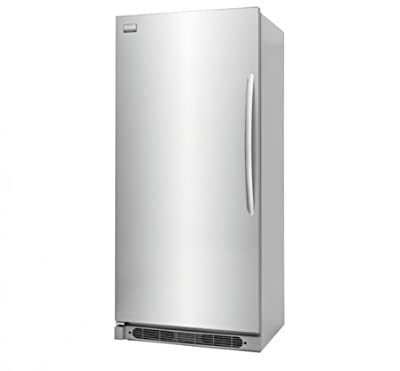 """Frigidaire FGFU19F6QF 32"""" Gallery Series All Freezer with 18.6 cu. ft. Capacity SpaceWise Glass Shelves Store-More Crisper Drawer and Full-Width Deli Drawer in Smudge-Proof Stainless"""