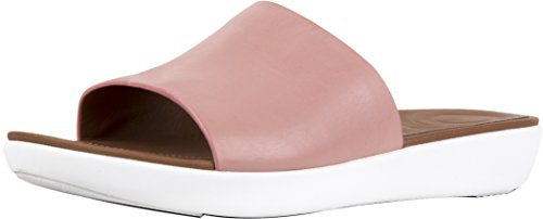 Fitflop Womens Sola Diapositive Rosa Scuro