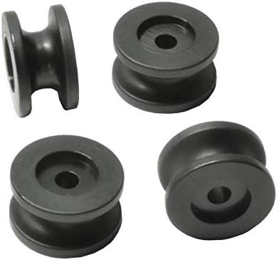 Rundknopf f/ür 6-8 mm Seil MENGE w/ählbar Rundkn/öpfe beidseitig Menge:1 ST/ÜCK