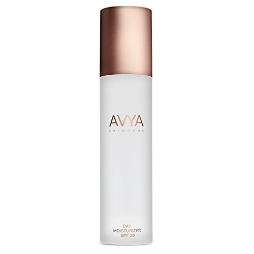 AVYA Skincare Day Moisturizer (SPF 20 – Zinc Sunscreen) 50ml/1.7oz – Anti-aging, deep hydration, even skin tone, anti-inflammatory benefits using ancient antioxidants made for all melanin levels.
