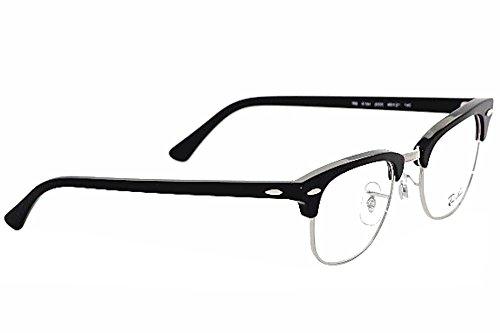 Gafas Monturas de Unisex Adulto Ray Black Ban Clubmaster qwTIpI