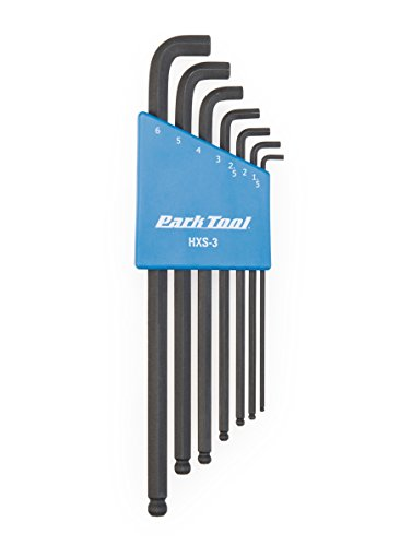 - Park Tool 1.5mm - 6mm Stubby Hex Wrench Set One Color, One Size