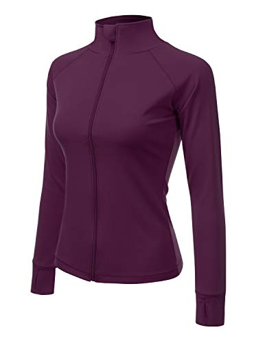 (ACTICLO Women's Active Outdoor Full-Zip Thermal Fleece Jacket US S // Asia L)