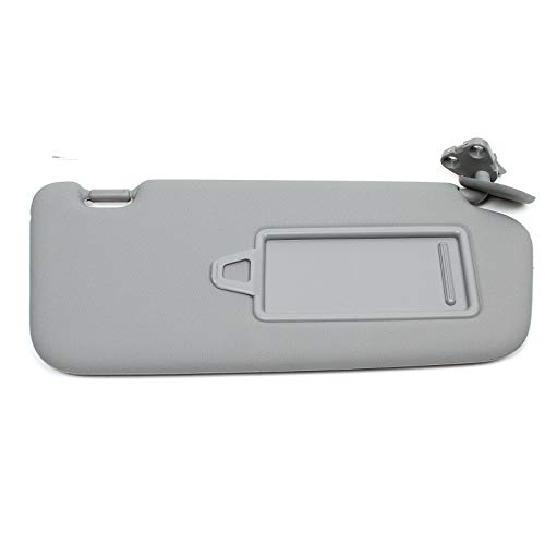 Fourgreen Sun Visor Gray Right Compatible with Hyundai 2006-2010 Accent