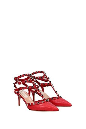 Sandalias Valentino Garavani Mujer - Piel (0S0375VJN) EU Rojo